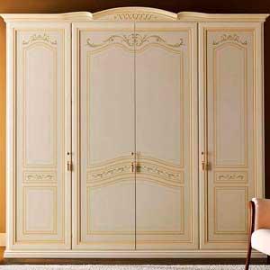 Классический распашной шкаф на заказ 4 двери